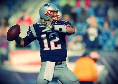 """Posted 6 minutes ago on TB12's Official FB fan page: """"Never give up... Never!""""  --Tom Brady (Wednesday, October 16, 2013)."""