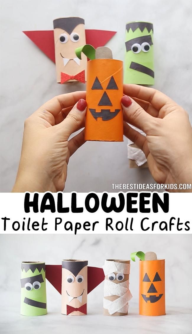 Photo of Halloween Toilet Paper Roll Crafts