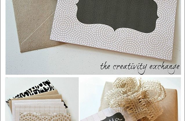Free Printable Chalkboard Note Cards & Tags