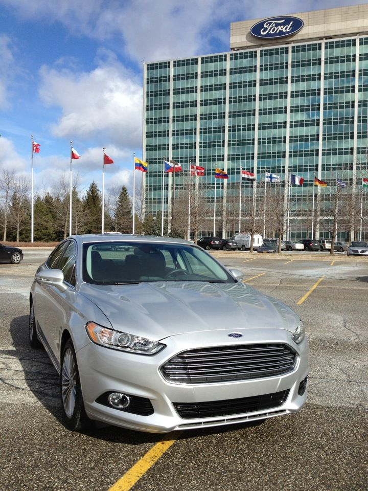 Ford Motor Company World Headquarters In Dearborn Michigan Is