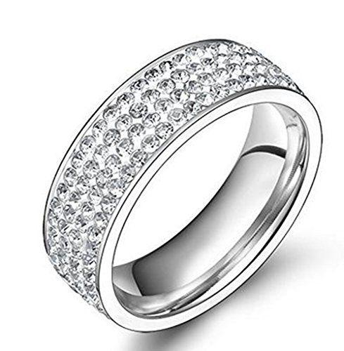 AnazoZ Jewelry Wedding rings for women 4 row austria crystal ring stainless steel AnazoZ http://www.amazon.co.uk/dp/B00XRO9CH8/ref=cm_sw_r_pi_dp_TTlfxb0QAC8K0