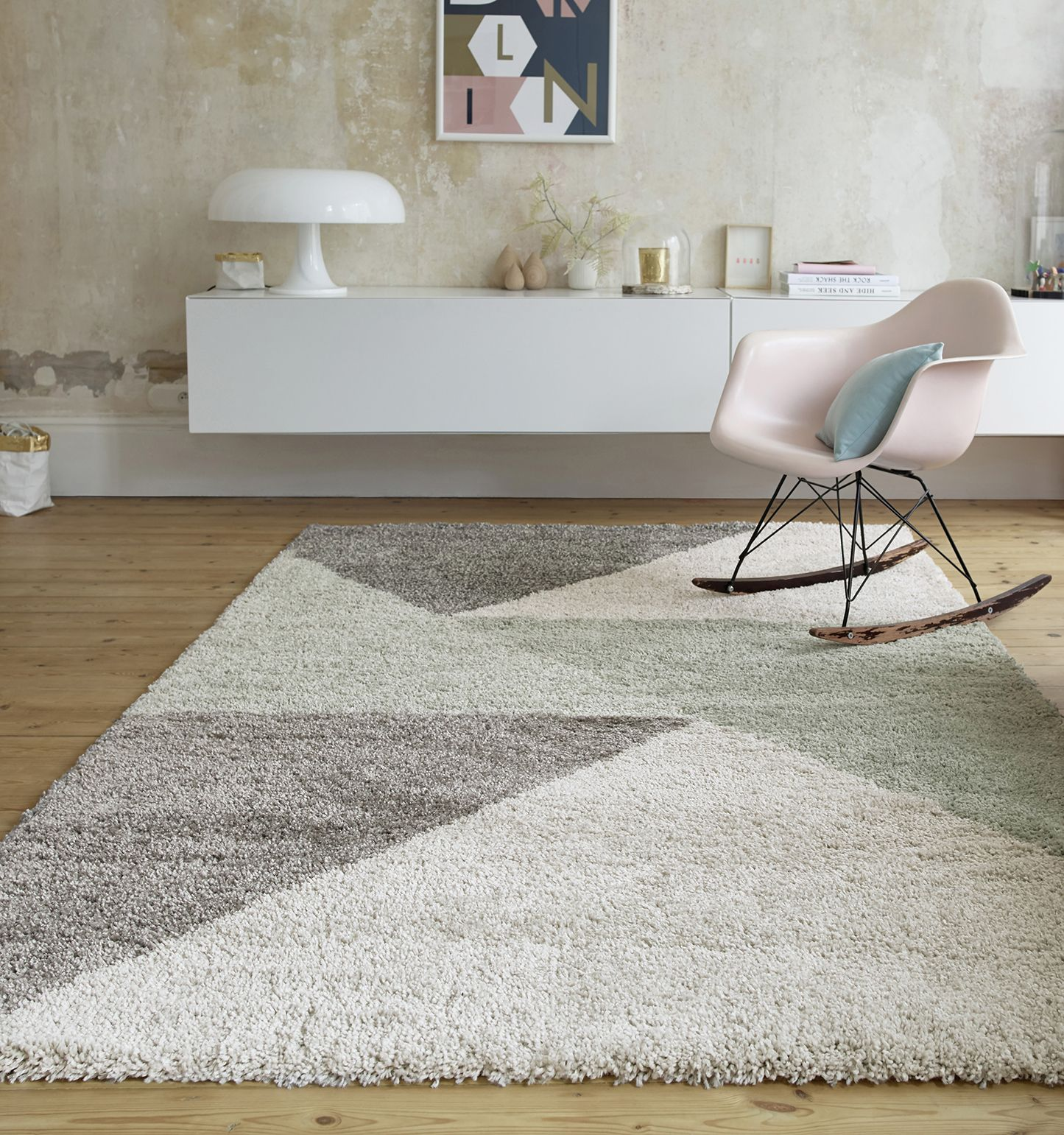 Ambiance Scandinave Salon Ambiance Scandinave Revisitée Tapis Triangle