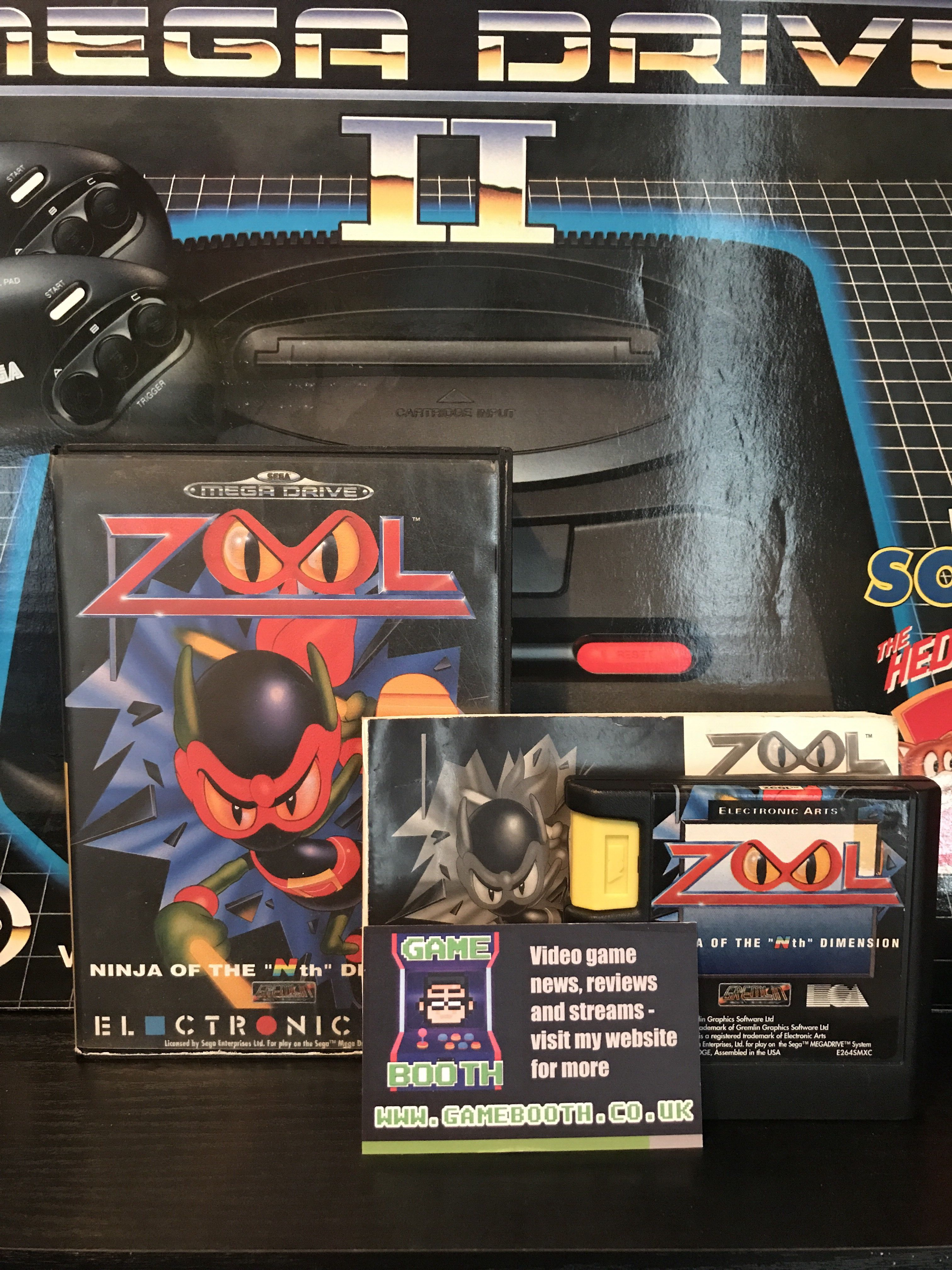 Game of the Day: Zool Ninja of the Nth Dimension! #sega