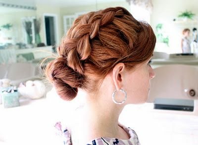 I want to try this! My hair is sooo not this thick though :(