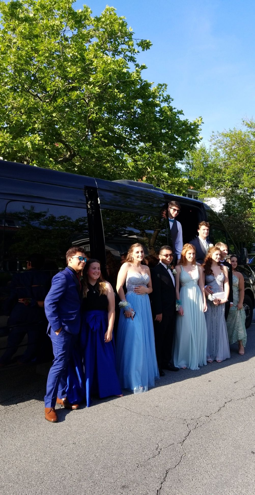 Prom Party Bus Luxury Transportation