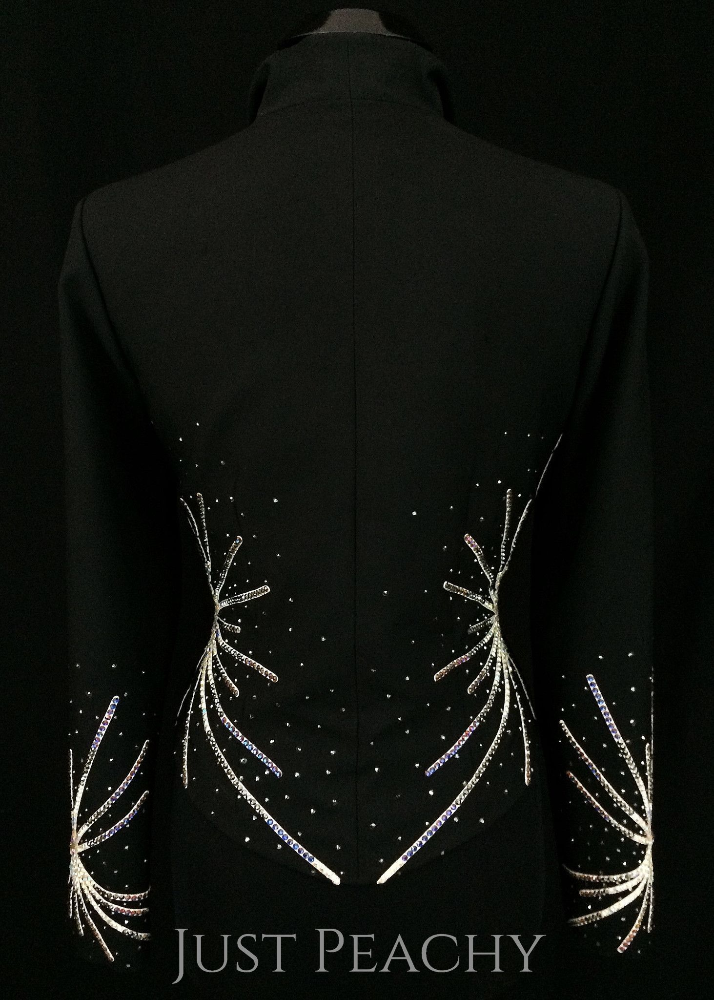Black and White Jacket by Berry Fit ~ Ladies Large – Just Peachy ...