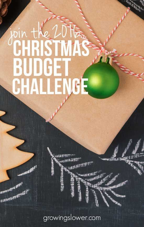 Christmas Budget Challenge - Create a Christmas season that reflects your values and personal finance goals. Together we'll, get organized, create a Christmas budget (with free printable), find frugal gift ideas, learn to stay on budget without getting carried away by last minute purchases.