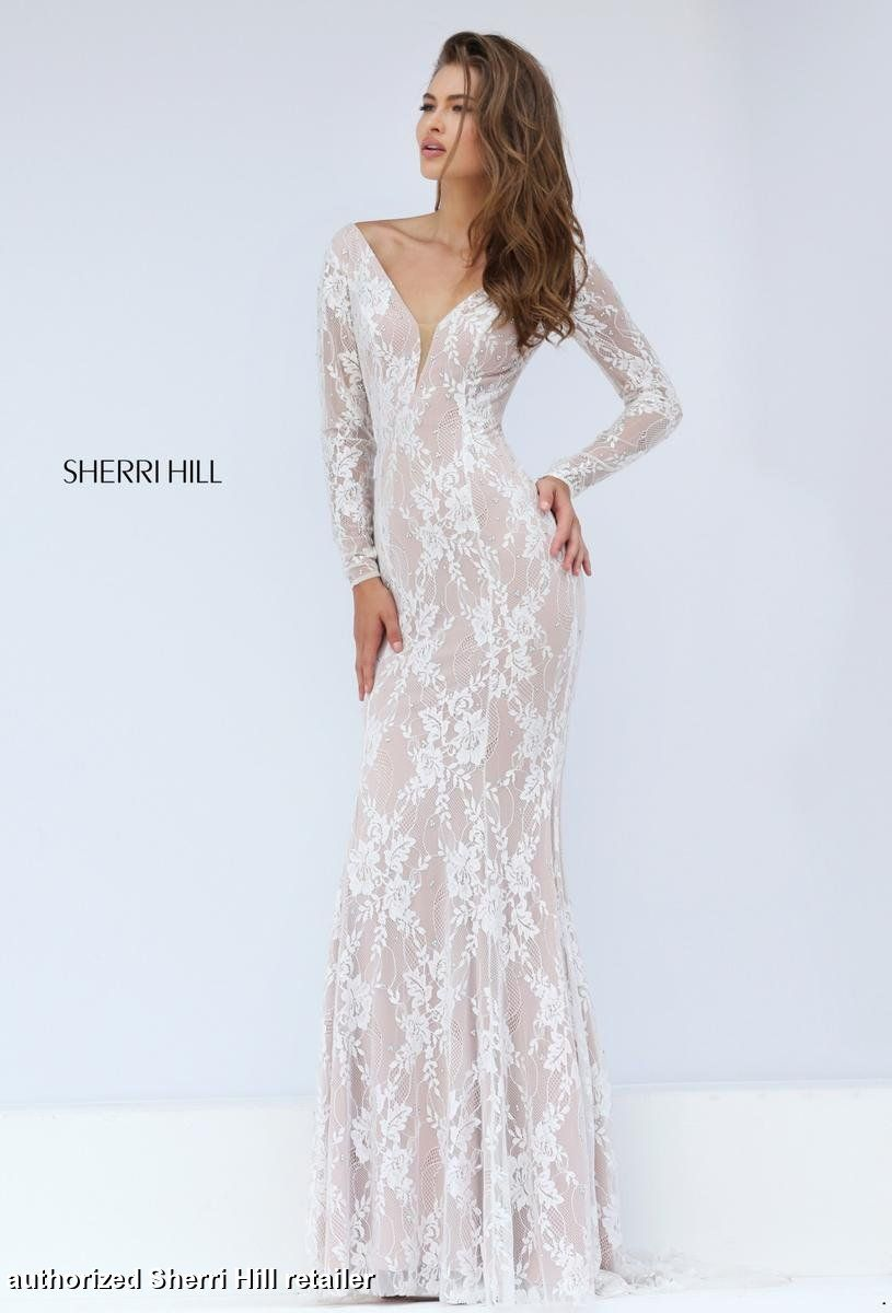 50019 Sherri Hill. Long sleeved prom dress. Sherri Hill prom. prom ...