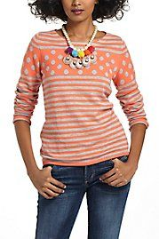 Stacked Spots Pullover