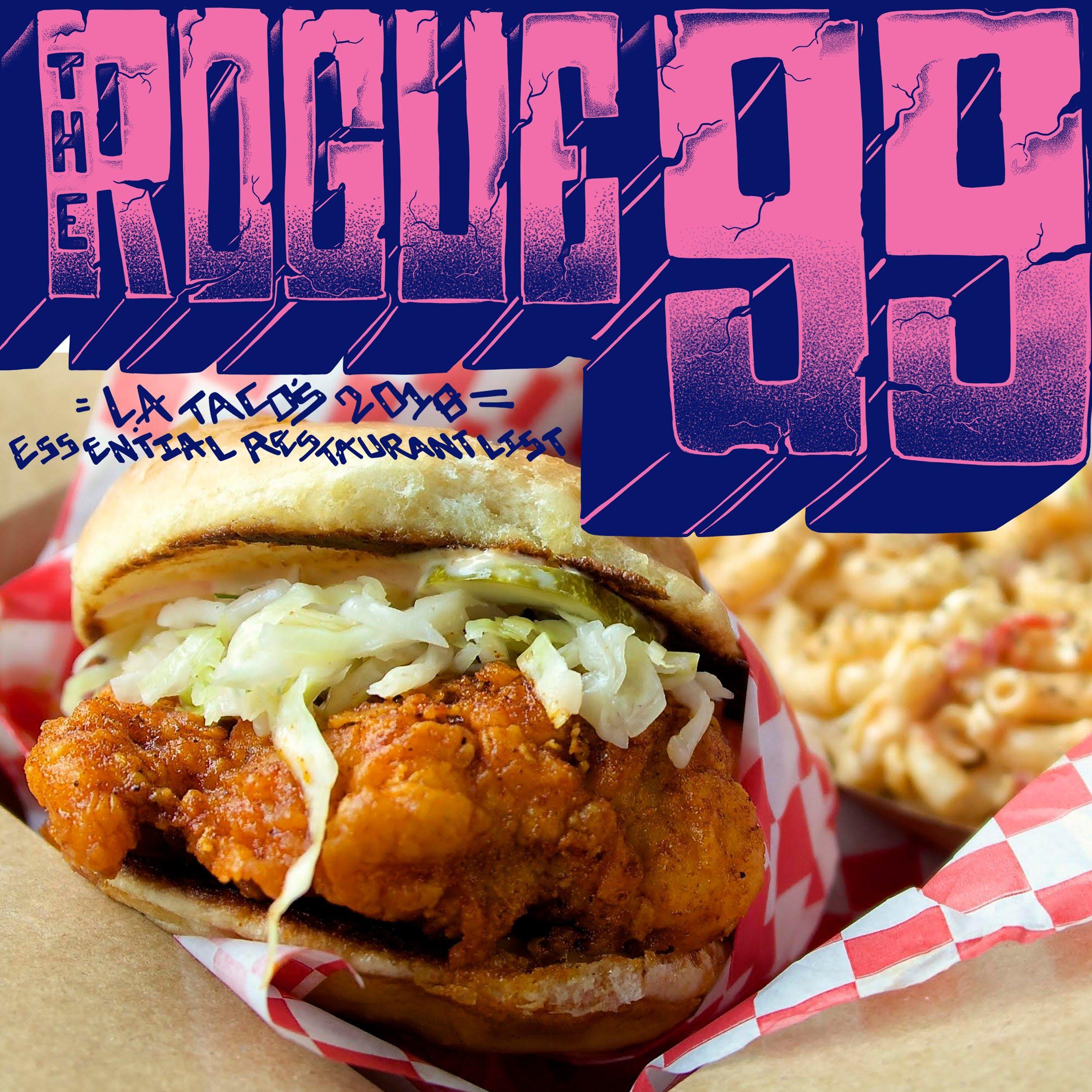 The Rogue 99 L A Taco S 2018 Essential Restaurant Guide L A Taco Restaurant Guide Food Critic La Eats