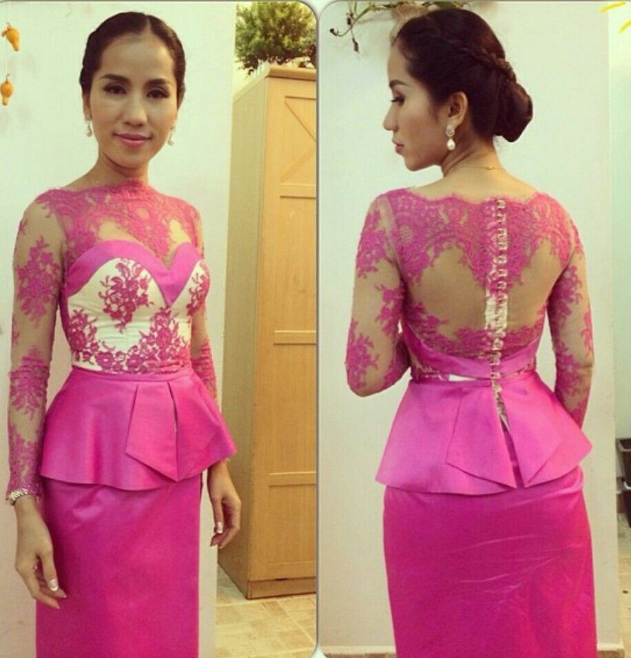 Khmer traditional clothes | khmer fashion | Pinterest