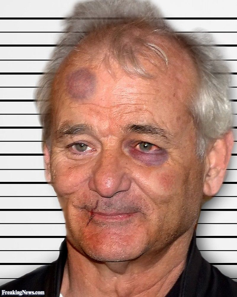 "Young Bill Murray Mustache Bill Murray ""mugs..."