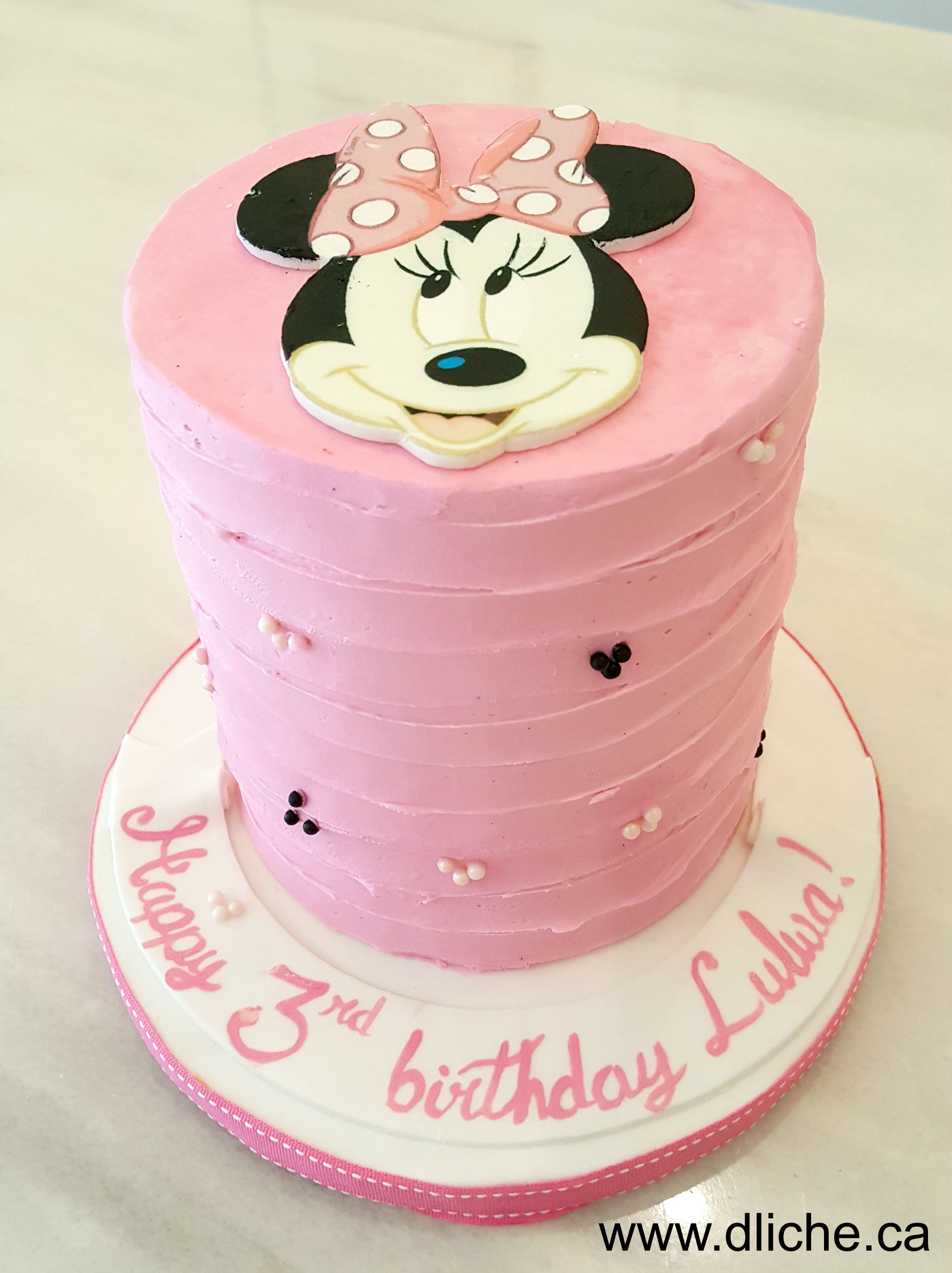 Minnie Mouse cake | Simplement D Liche Cupcakes & Cakes | Pinterest ...