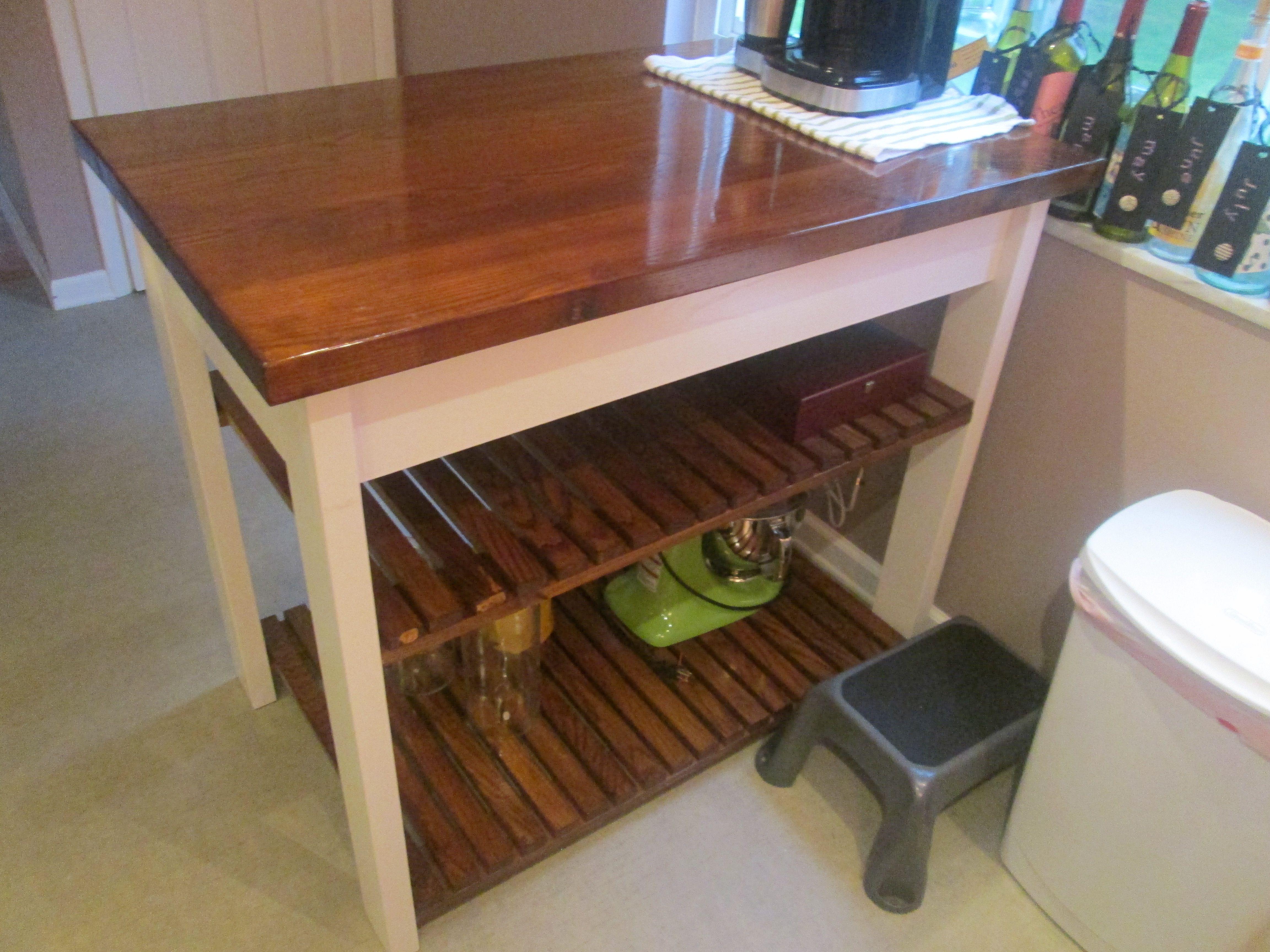 Kitchen Work Station - 1st major project  Wood - Ash