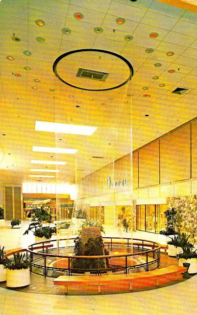 Early 1970s Wonderfall Fountain In Brookfield Square Wi Mall All The Malls Had Distinctive Mid Century Details Late Sixties 70s