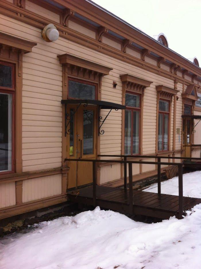 Uusi työtila Porvoon rautatieasemalla