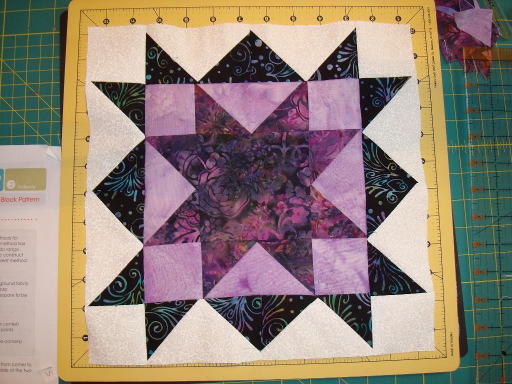Double Star Block Quilt Block Patterns Pinterest Patterns