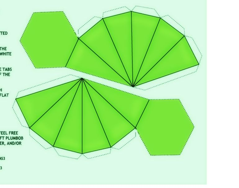This is a picture of Soft Sims Plumbob Template Printable