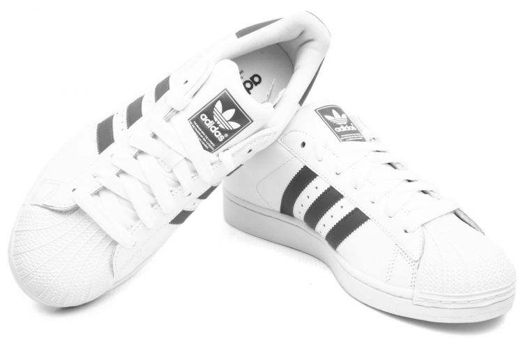 Adidas Superstar Grey White