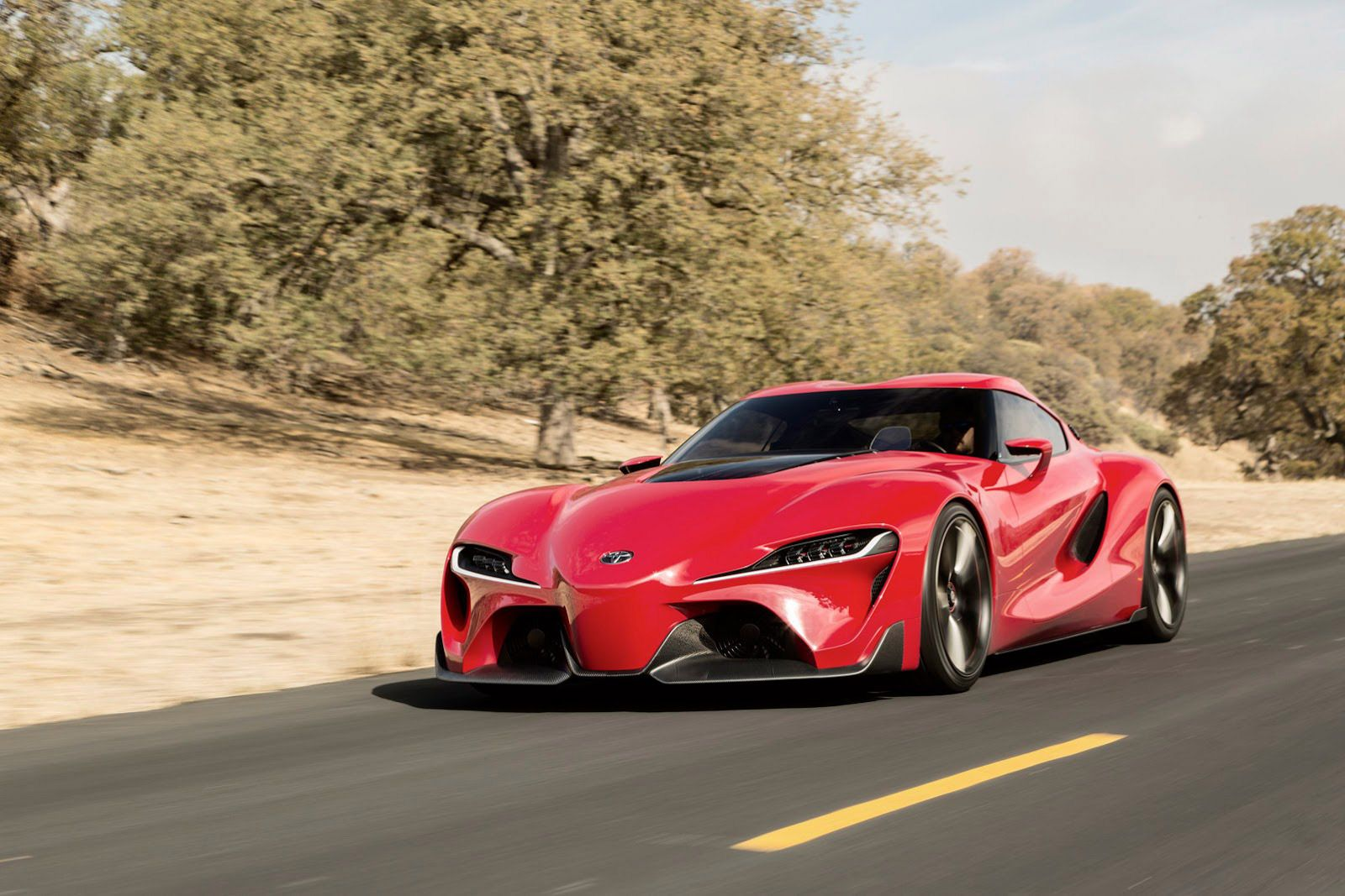 Toyota Ft 1 Concept Will Spawn New Supra Report New Toyota Supra Super Cars Concept Cars