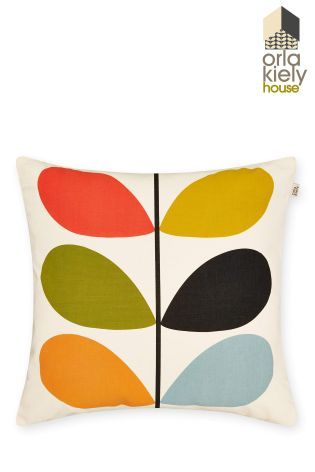 Orla Kiely Linear Stem Cushion From The Next Uk Online