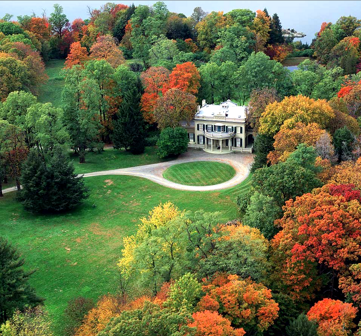 Beautiful Places Hudson Valley: Montgomery Place, Red Hook, NY. Site Of Hudson Valley