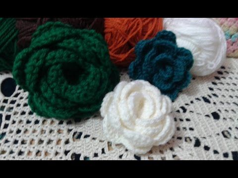 How To Crochet Flower 3d Step By Step Free Crochet Pattern