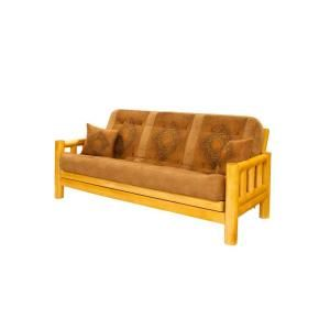 Tree Tahoe Pine Wood Futon With
