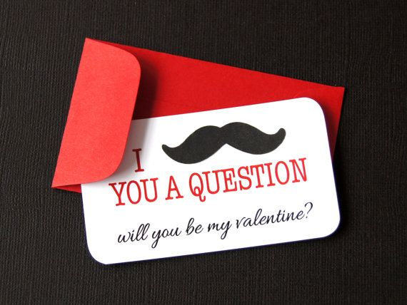I Mustache You A Question Will You Be My Valentine Door Scrapbits