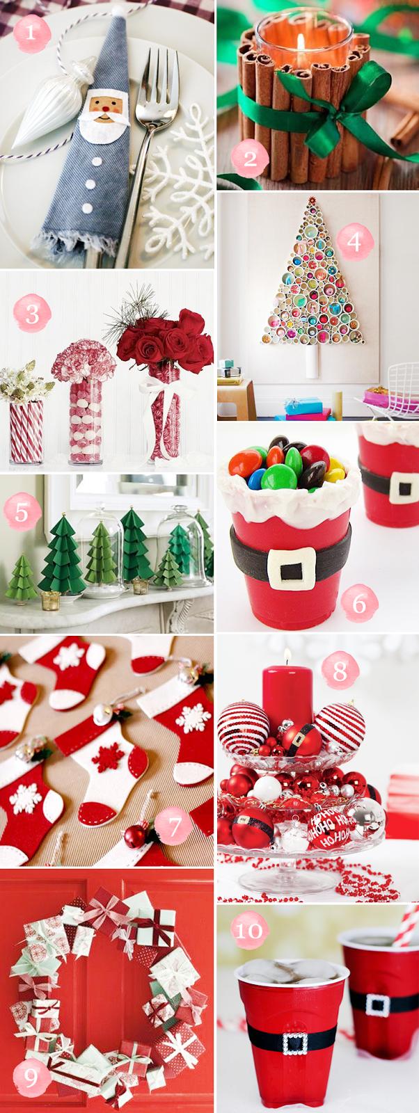 Enfim, resolvido!: Como decorar a casa para o natal gastando pouco