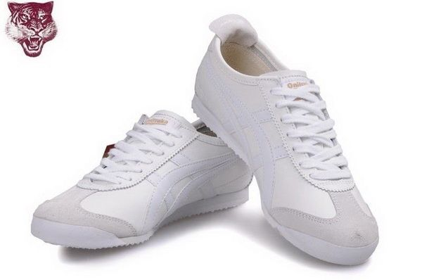 asics sneakers all white