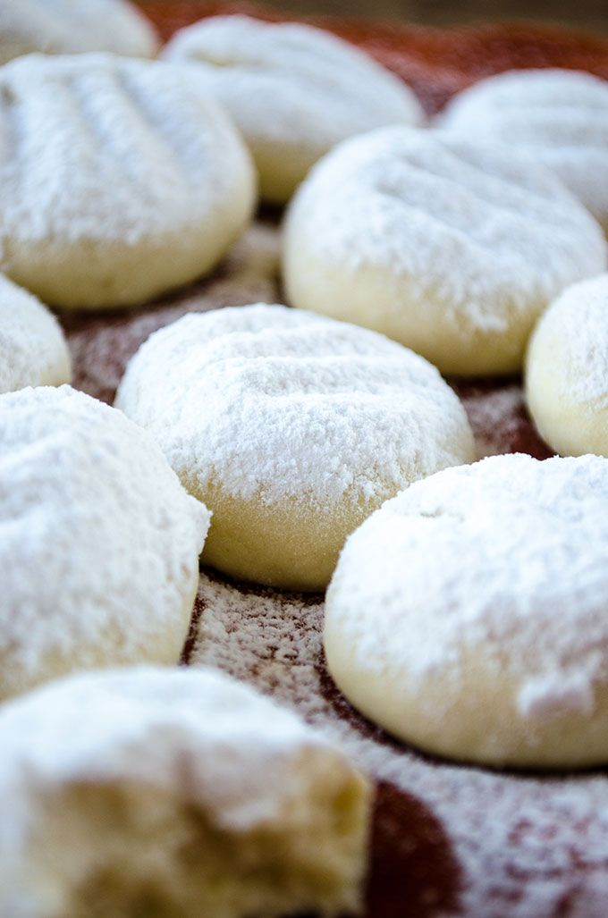 melting moments cookies   giverecipe.com   #cookies