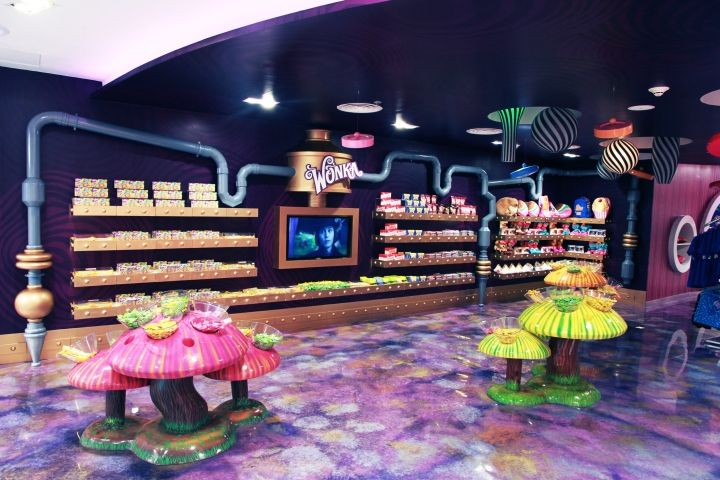 Scrumptious Interior Designs Two Story Candy Store Is A Sweets Wonderland