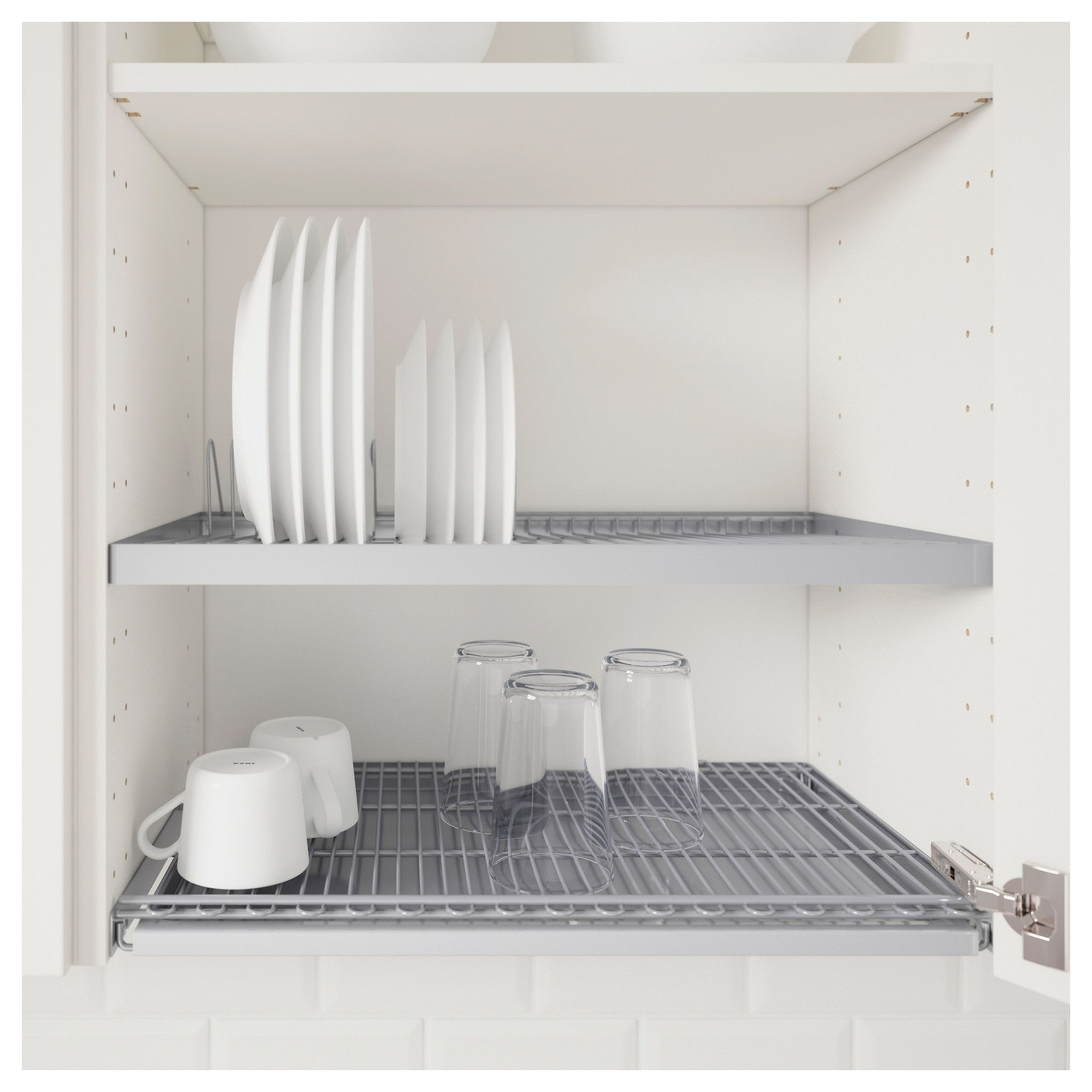 UTRUSTA Dish drainer for wall cabinet IKEA | Dish drainers, Inside ...