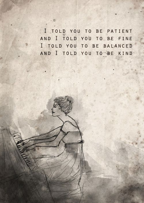 Skinny Love Birdy With Images Favorite Lyrics Me Quotes