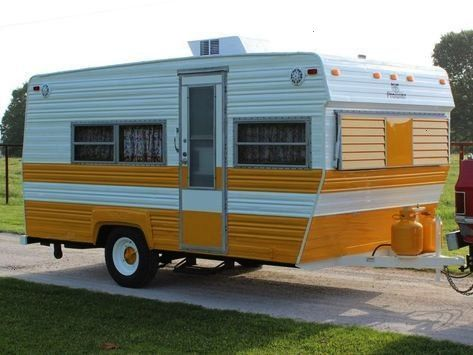 Inside This Restored 1973 Prowler Camper -  Check out how this rotting 1973 Prowler camper got a co