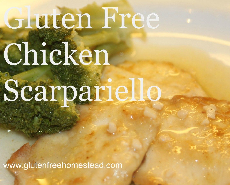 Gluten Free Chicken Scarpariello