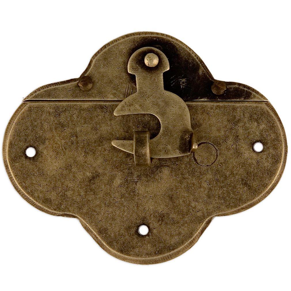 Single Hook Chest Box Latch Lock 2 Quot Hardware Brass
