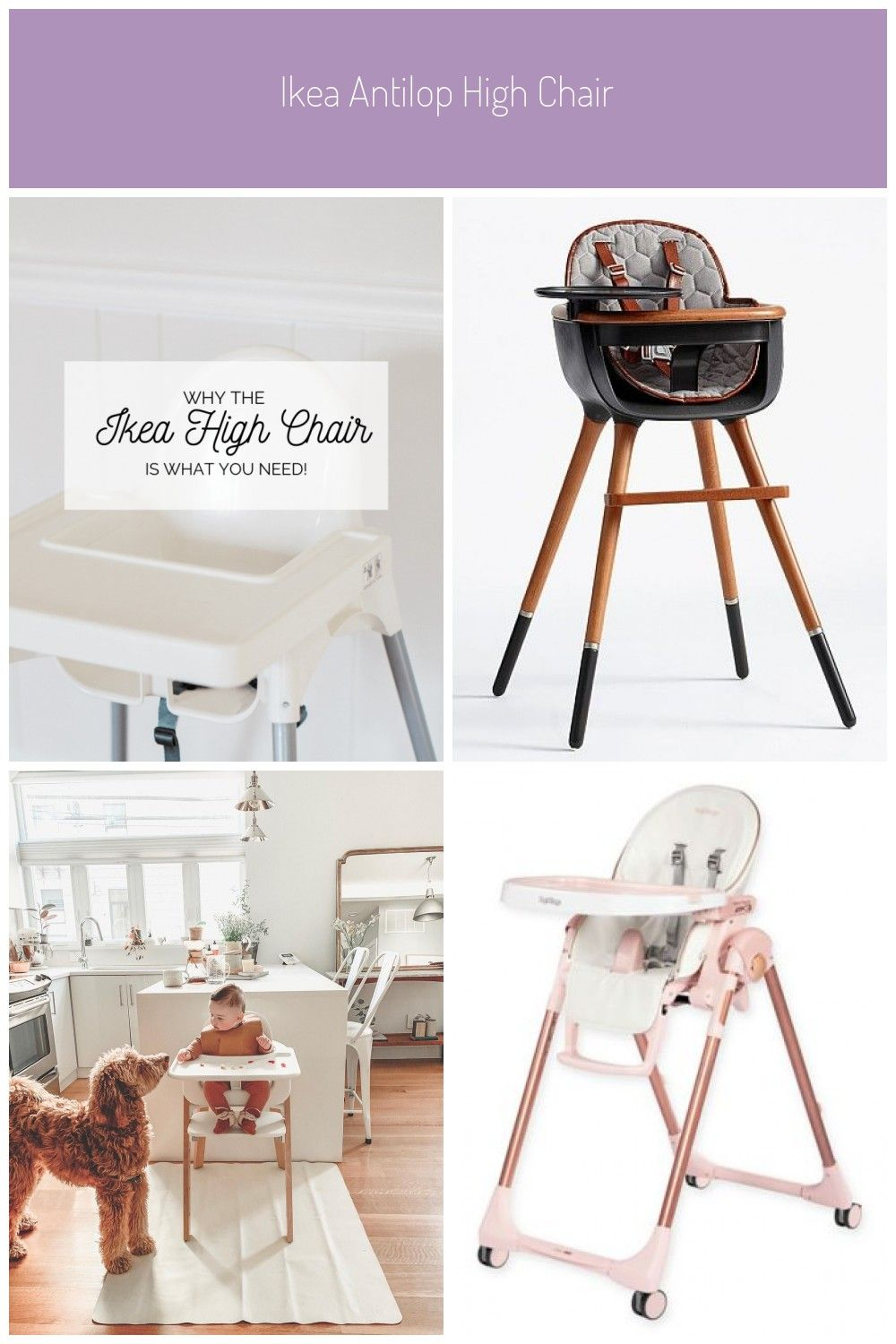 A review of the IKEA Antilop High Chair. The top 5 reasons
