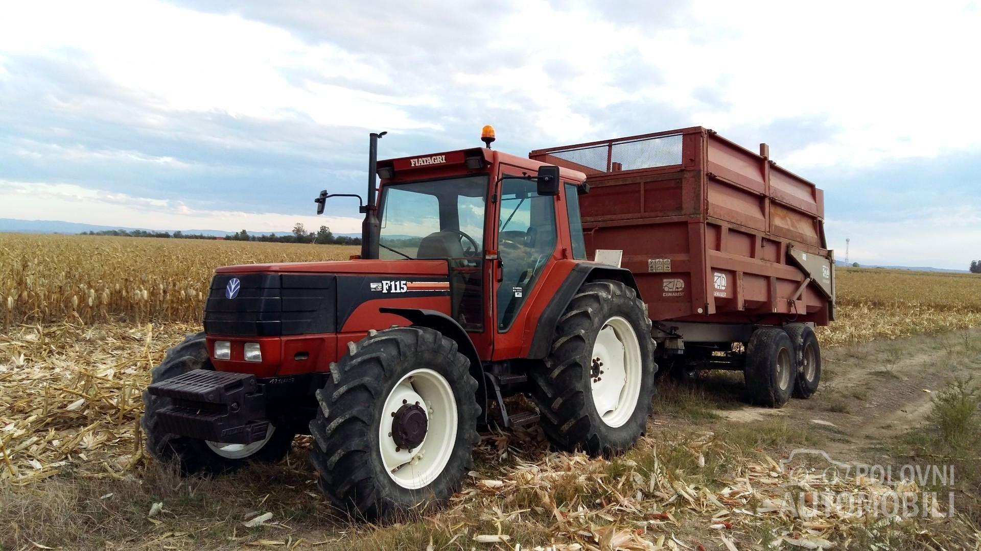 Fiat F115 Fiat, Tractors, Tractor Pulling