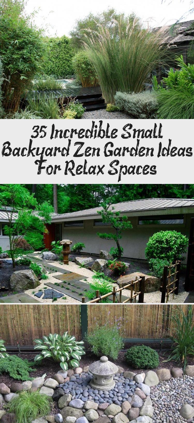 35 Incredible Small Backyard Zen Garden Ideas For Relax Spaces Backyard Ideas Backyard Garden Ideas In 2020 Japanese Garden Japanese Garden Landscape Zen Garden