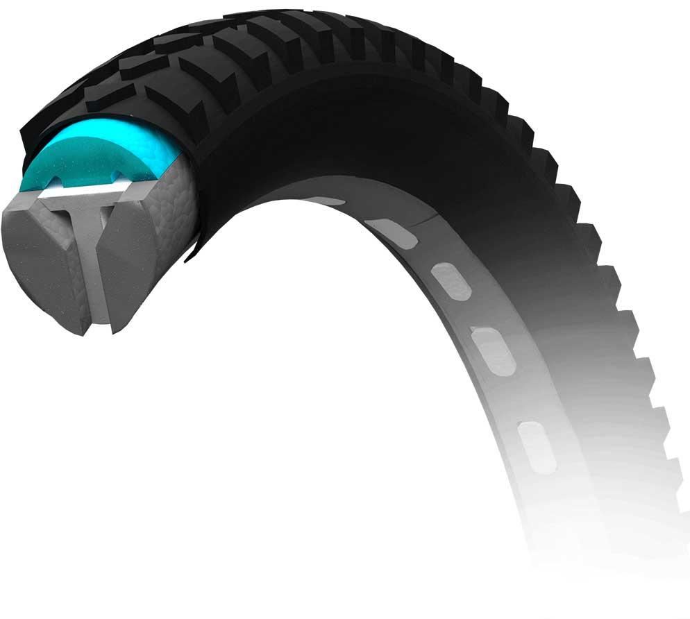 Airless Bike Tire Solution Air Fom No Flat Tires Ever Bike Tire Flat Tire Bike