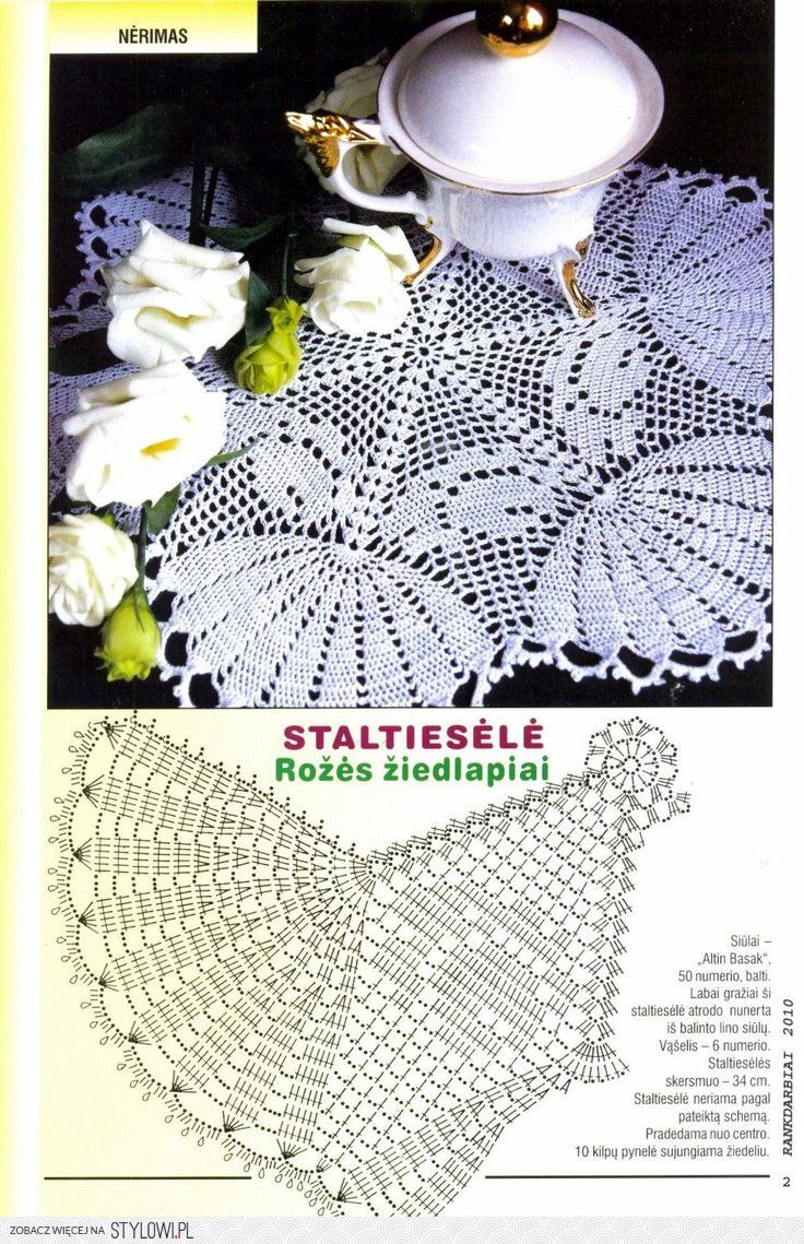 View image: image 1 | croche doilies na Stylowi.pl | Patrones ...