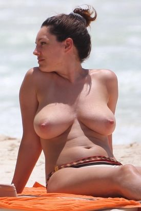 Inquiry answer Kelly brook topless mexico consider