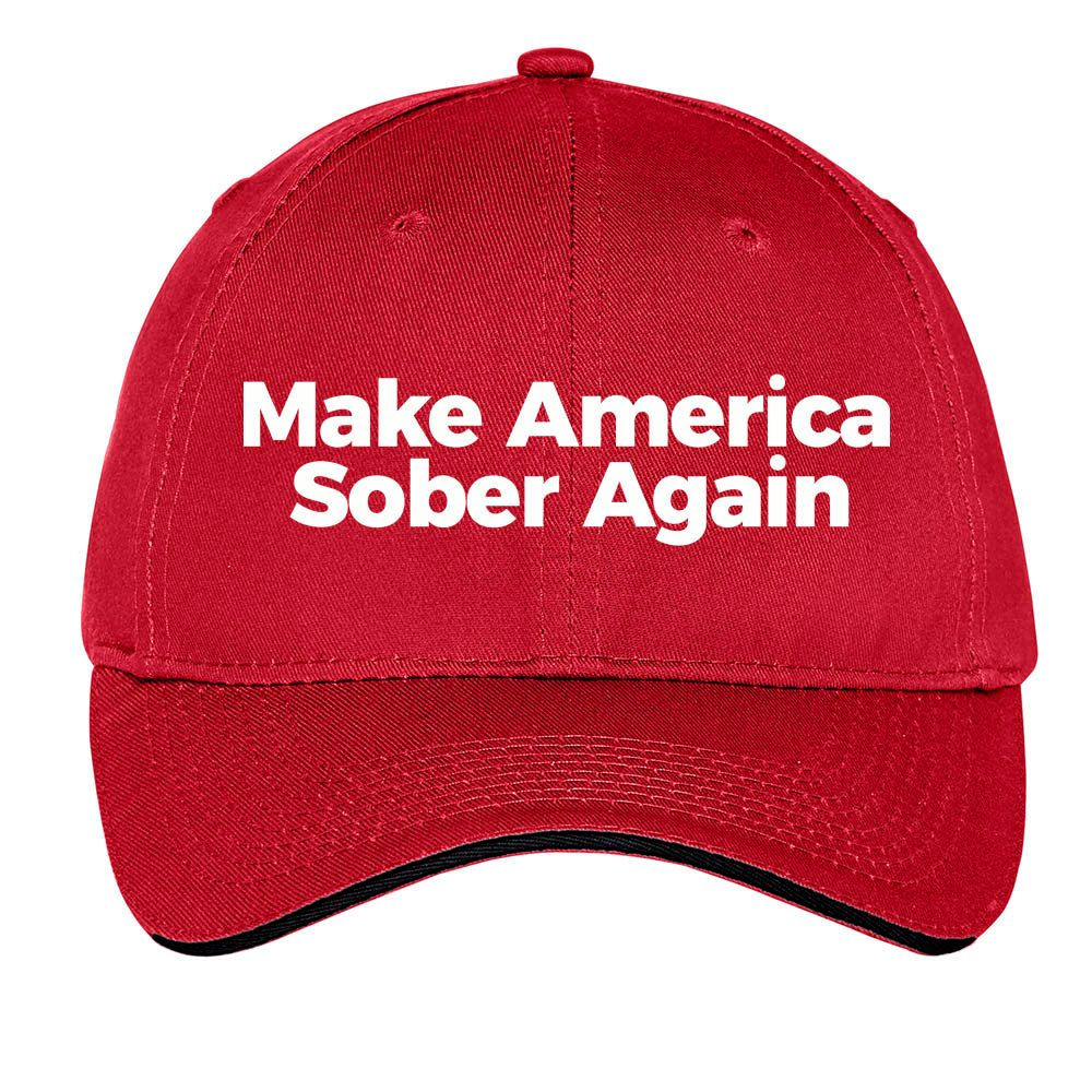 51410ca273e Make America Sober Again Trump MAGA Cap Baseball Hat Great Dad Hat Truckers  Hat by TimeofReason on Etsy