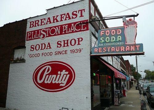 Elliston Place Soda Shop On Elliston Place In Nashville Tennessee Nashville Musiccity Nashville Tennessee I Believe In Nashville