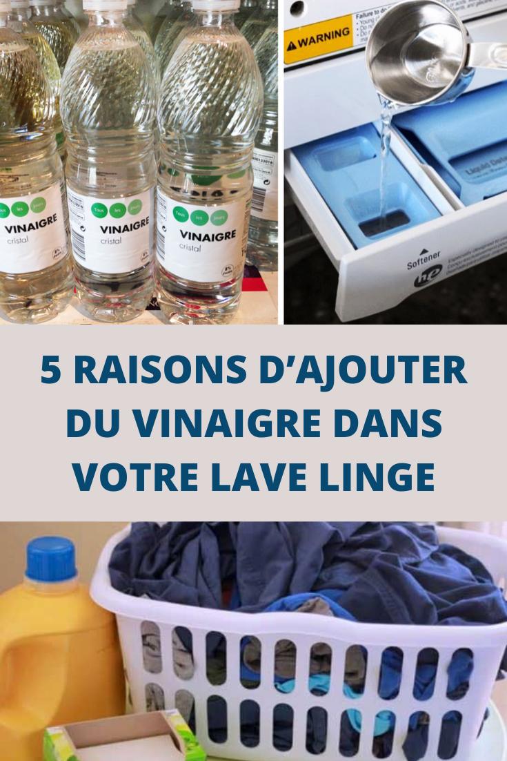 Vinaigre Blanc Dans La Machine A Laver 5 raisons d'ajouter du vinaigre dans votre lave linge