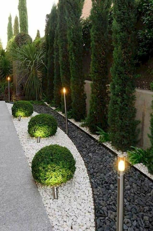 For The Side Of The House Rock Garden Landscaping Landscaping With Rocks Backyard Landscaping Designs