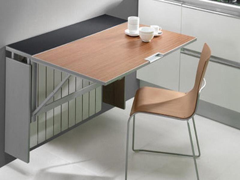 Кухонный стол в стене своими руками