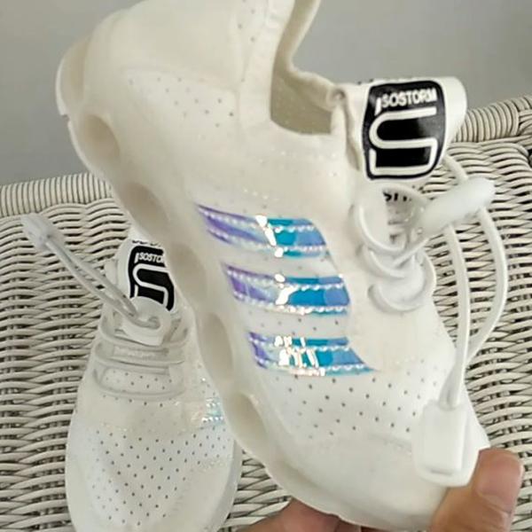 S Stripe Led Shoes 22 26 Sepatu Sepatu Anak Baju Anak